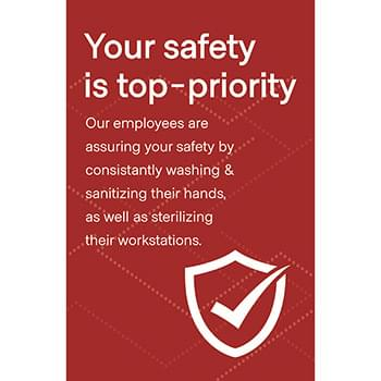 Employee Safety Posters, CANADA, Pack of 6, Multiple colors